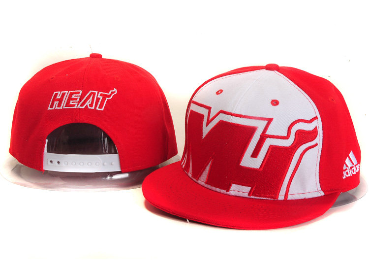 Miami Heat Snapback Hat YS 6