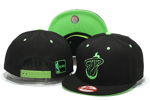 Miami Heat Snapback Hat YS 0701