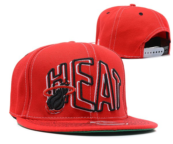 Miami Heat NBA Snapback Hat SD 2306
