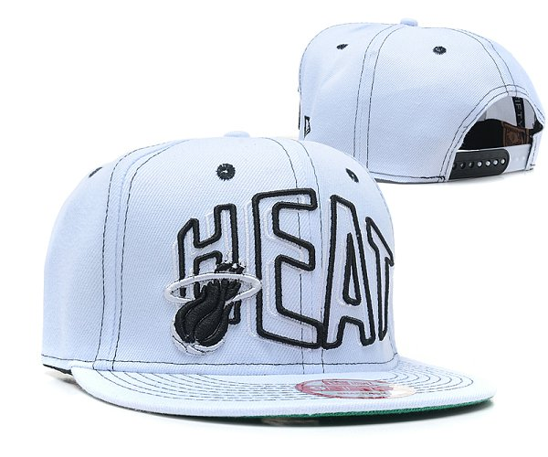Miami Heat NBA Snapback Hat SD 2308