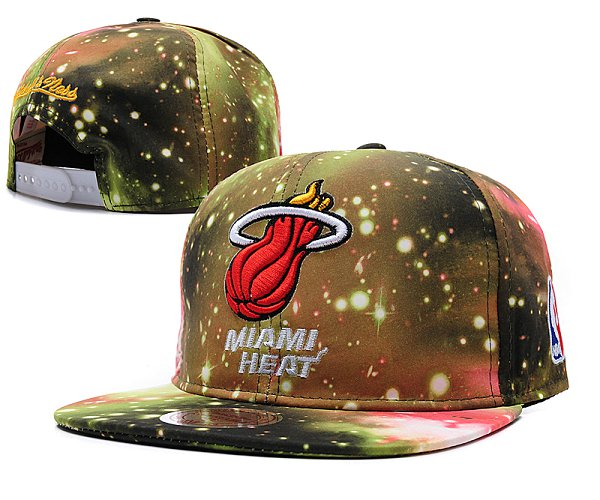 Miami Heat Snapback Hat SD 253