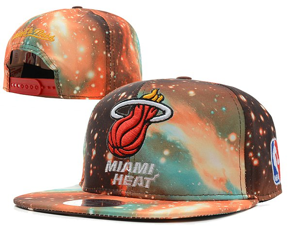 Miami Heat Snapback Hat SD 7602