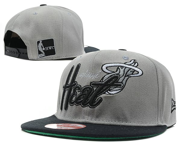 Miami Heat Snapback Hat SD 7606