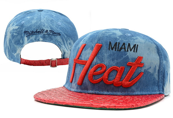 Miami Heat Snapback Hat XDF 313
