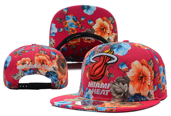 Miami Heat Snapback Hat XDF 510