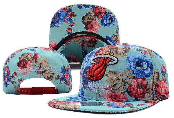 Miami Heat Snapback Hat XDF 522