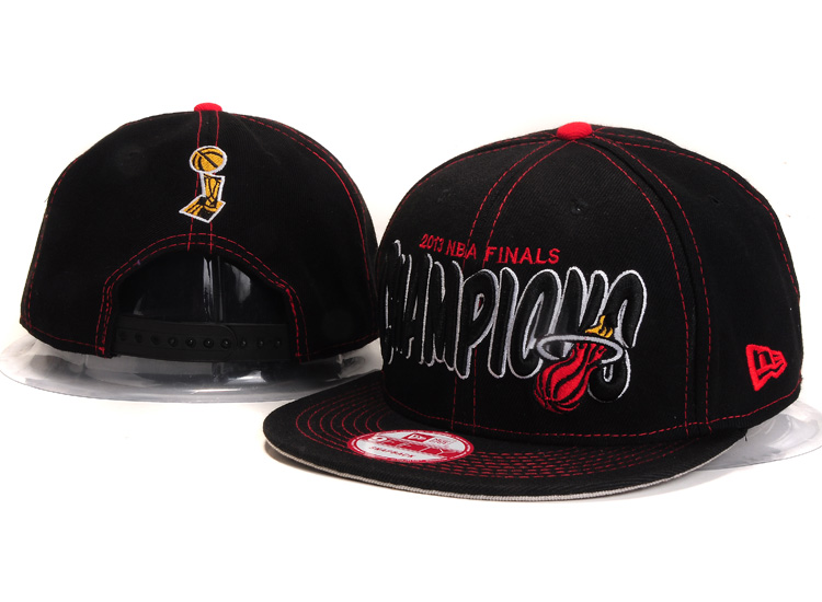 Miami Heat Snapback Hat YS 5606