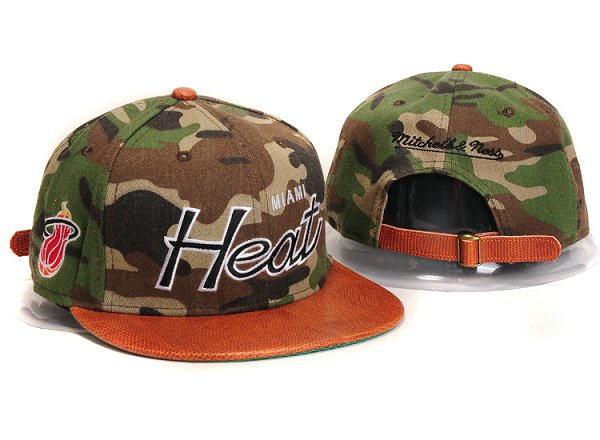 Miami Heat Snapback Hat YX 8302