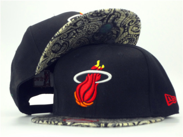 Miami Heat Snapback Hat ZY 1