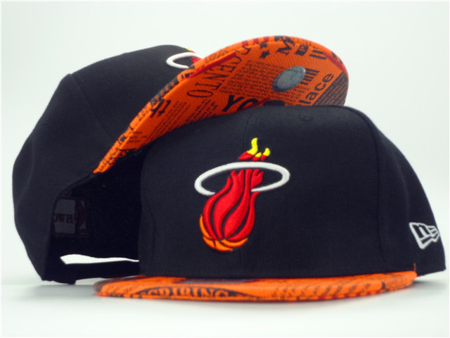 Miami Heat Snapback Hat ZY