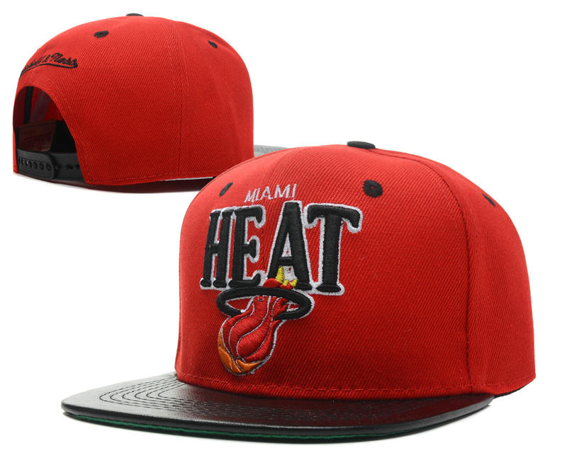 Miami Heat Snapback Hat SD 1