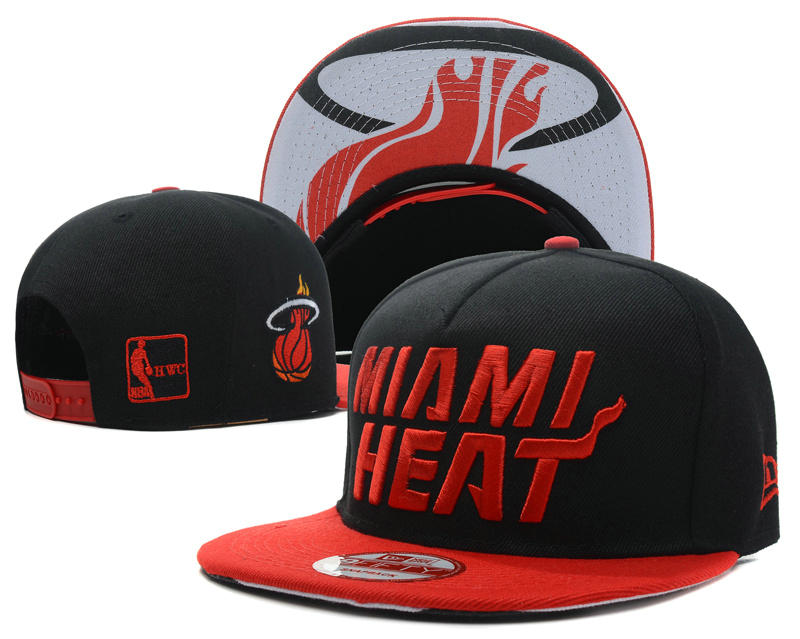 Miami Heat Snapback Hat SD