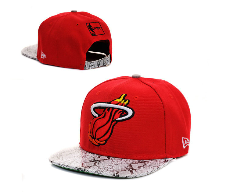 Miami Heat Snapback Hat TY