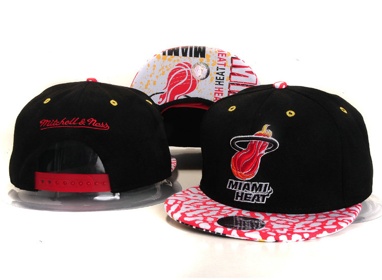 Miami Heat Snapback Hat YS 1