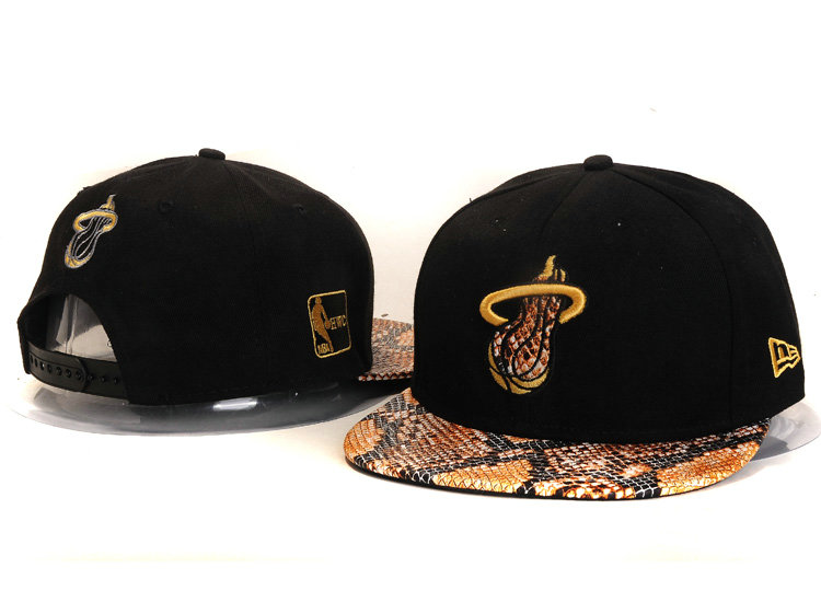 Miami Heat Snapback Hat YS 3