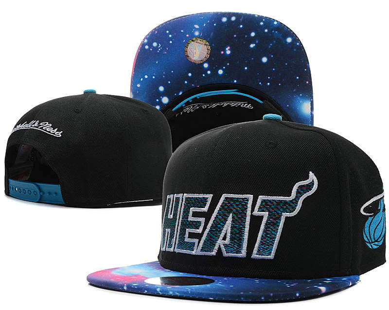 Miami Heat Snapback Hat SD 14