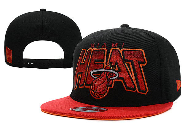 Miami Heat Snapback Hat XDF 29