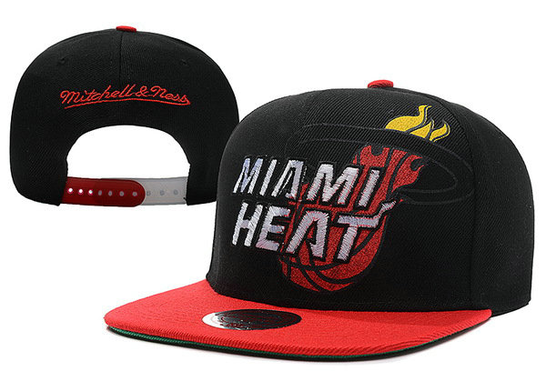 Miami Heat Snapback Hat XDF 30