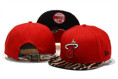 Miami Heat Snapback Hat 0903 (3)