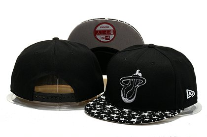 Miami Heat Snapback Hat 0903 (7)
