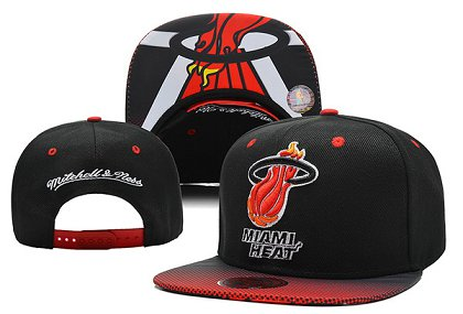 Miami Heat Snapback Hat 0903 (8)