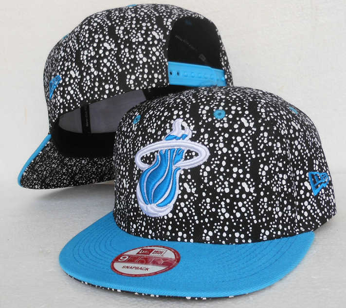 Miami Heat Snapback Hat SJ 3 0613