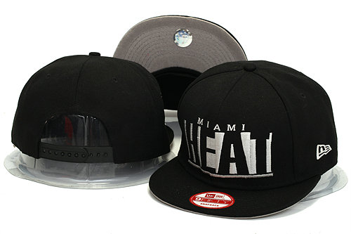 Miami Heat Snapback Hat YS 1 0613