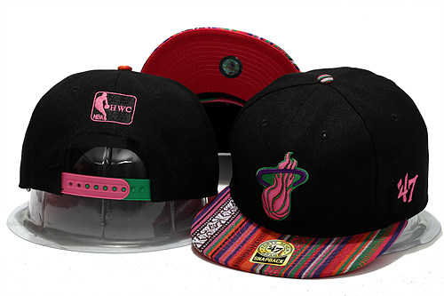 Miami Heat Snapback Hat YS 2 0613