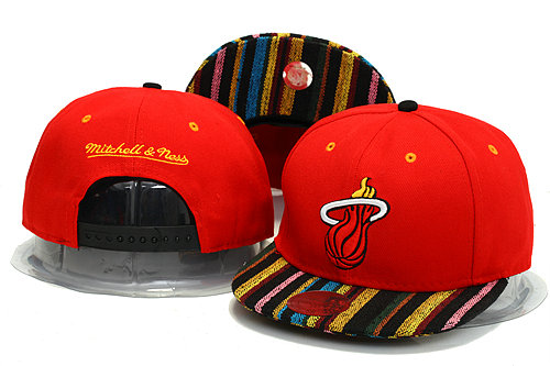 Miami Heat Snapback Hat YS 3 0613