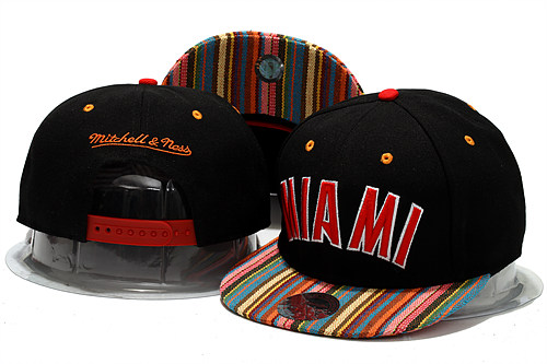Miami Heat Snapback Hat YS 4 0613