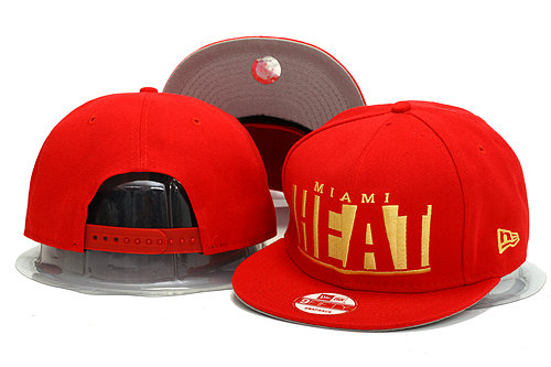 Miami Heat Snapback Hat YS 0613