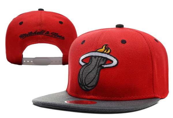 Miami Heat Snapback Hat XDF 0721