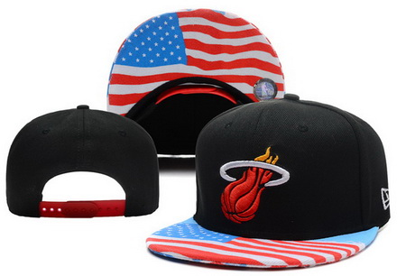 Miami Heat Snapback Hat XDF 14082 06