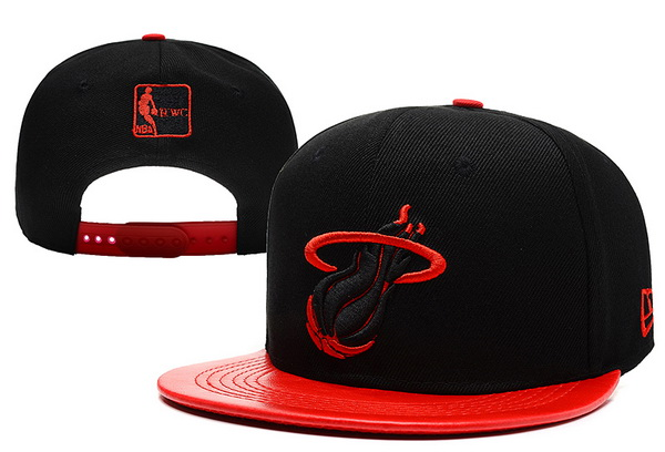 Miami Heat Snapback Hat XDF 14082 07