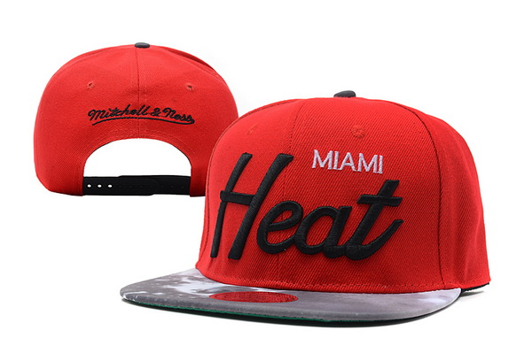 Miami Heat Snapback Hat XDF 14082 10