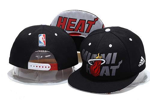 Miami Heat Snapback Hat YS 0721