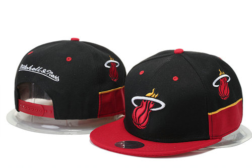 Miami Heat Snapback Black Hat 1 GS 0620
