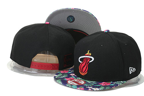Miami Heat Snapback Black Hat 2 GS 0620