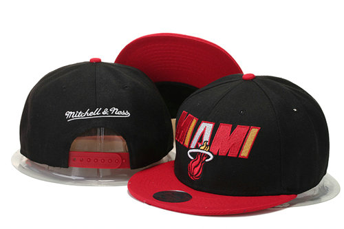 Miami Heat Snapback Black Hat 3 GS 0620