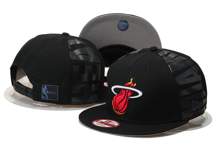 Miami Heat Snapback Black Hat GS 0620