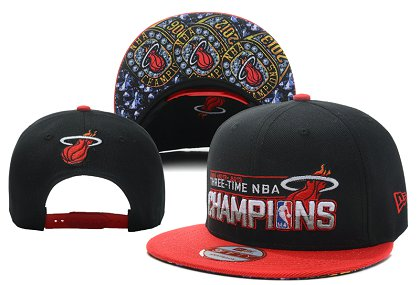 Miami Heat NBA Snapback Hat LX-A