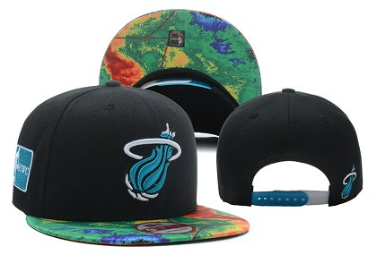 Miami Heat NBA Snapback Hat LX-F