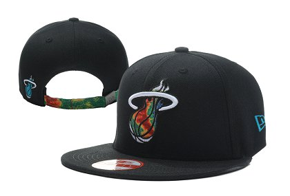 Miami Heat NBA Snapback Hat LX-S
