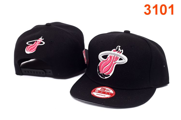 Miami Heat NBA Snapback Hat P-T
