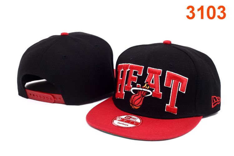 Miami Heat NBA Snapback Hat P-T2