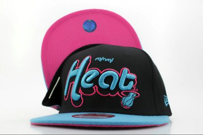 Miami Heat NBA Snapback Hat QH a