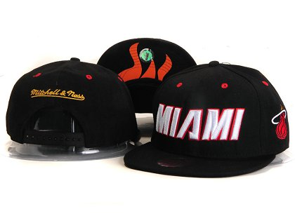 Miami Heat New Snapback Hat YS E23