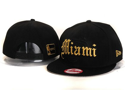 Miami Heat New Snapback Hat YS E33