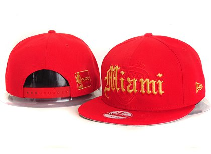 Miami Heat New Snapback Hat YS E34