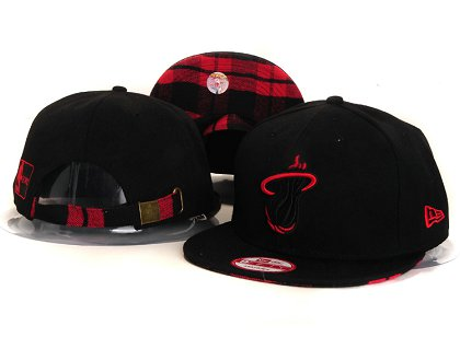 Miami Heat New Snapback Hat YS E63